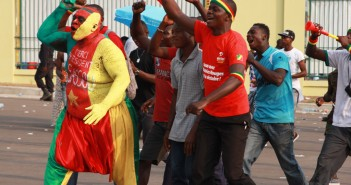 supporters jeux africains