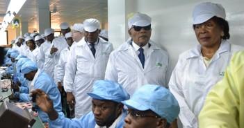 usine VMK à Brazzaville