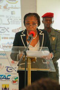 Rosalie Matondo, la Ministre de l'économie forestière du Développement Durable et de l'Environnement