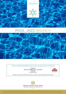 pool jazz brunch