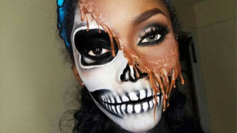 le face painting le maquillage artistique pour halloween brazza mag. Black Bedroom Furniture Sets. Home Design Ideas