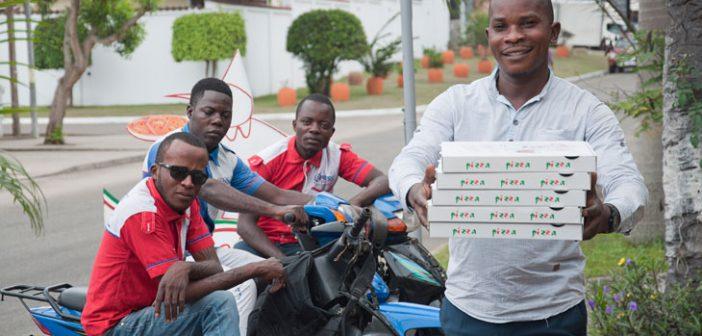 livraison au Congo