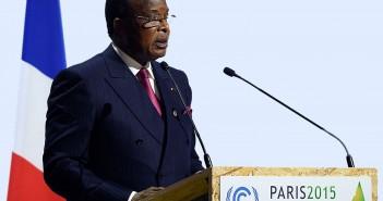 allocution, Denis Sassous Nguesso