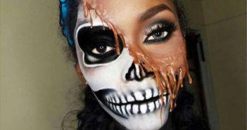 Le face painting, le maquillage artistique pour Halloween